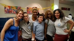Katie, bex, Brandi, Ari, Cece, Consuella